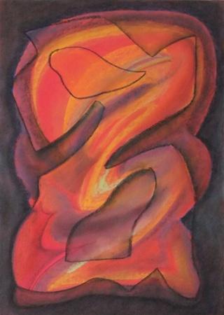 Róza Sáli painter: Mimicry I.